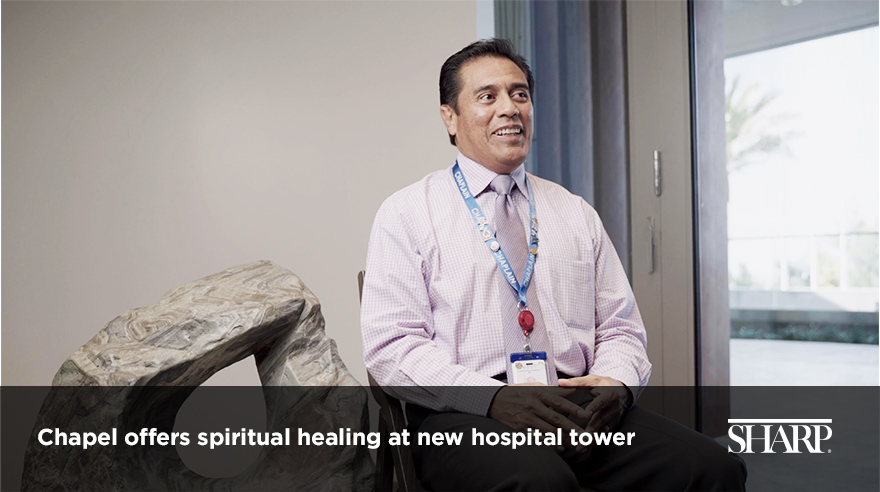 Chapel offers spiritual healing at new hospital tower