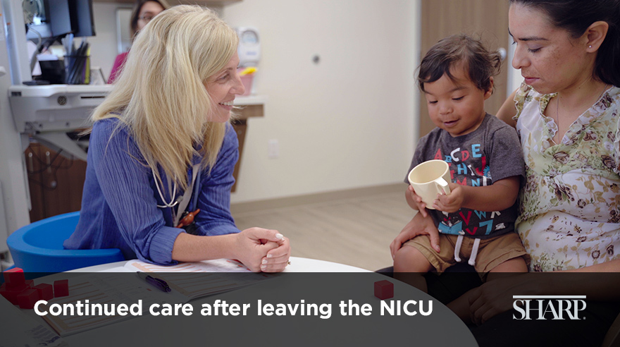 Continued care after leaving the NICU (video)