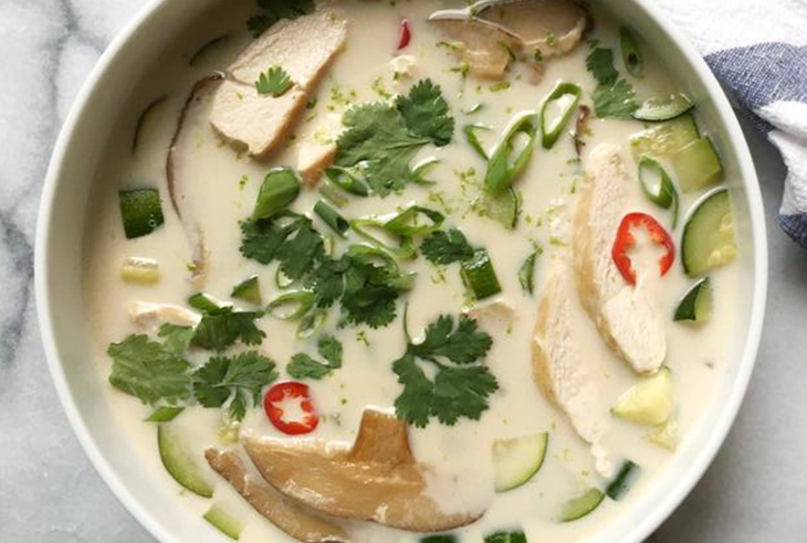 One-Pot Tom Kha Gai