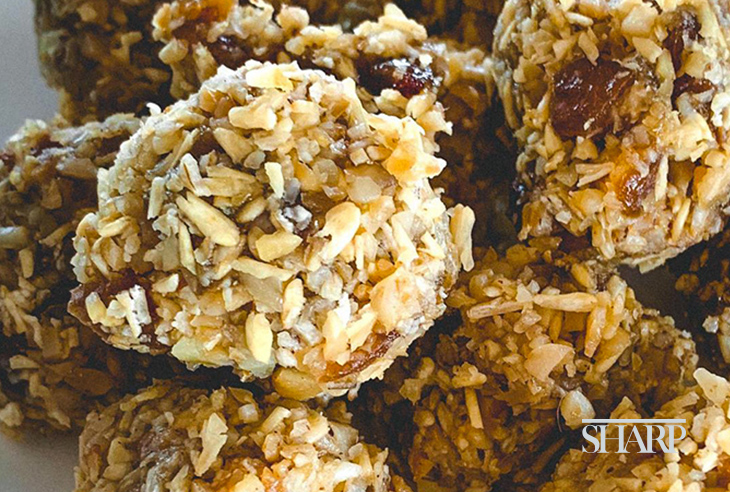 Pantry recipe: energy balls (listicle)
