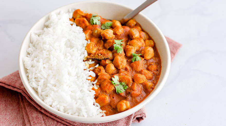Pantry recipe: chickpea curry