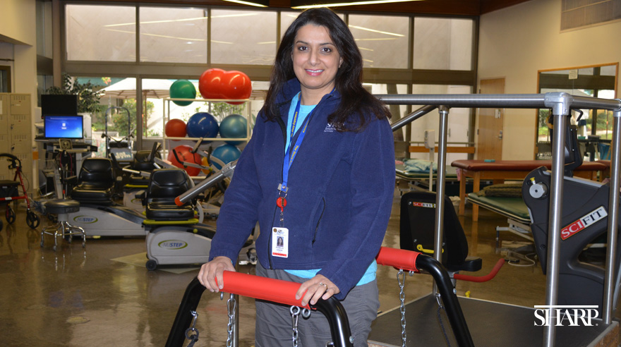 Pamela Singh of Sharp Grossmont Hospital