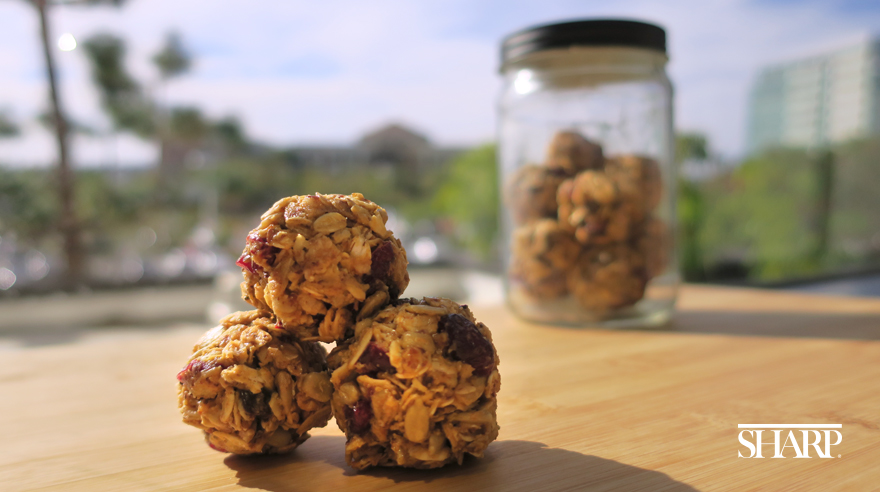 No-bake energy balls (recipe)