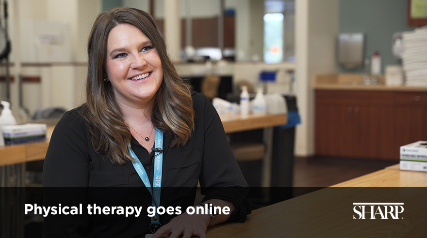 Physical therapy goes online (video)