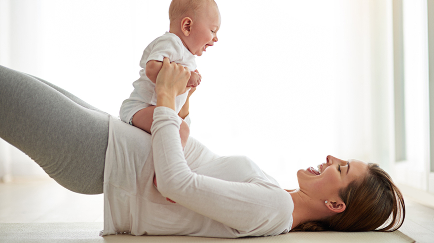 Restore your core, post baby