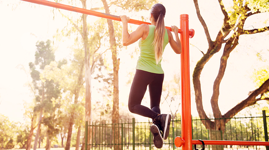 The power of the pull-up