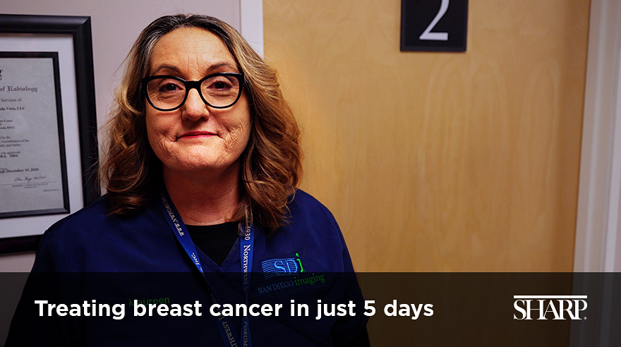 Treating breast cancer in just 5 days (video)