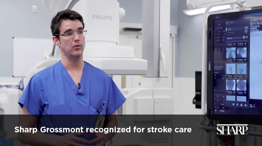 Sharp Grossmont recognized for stroke care