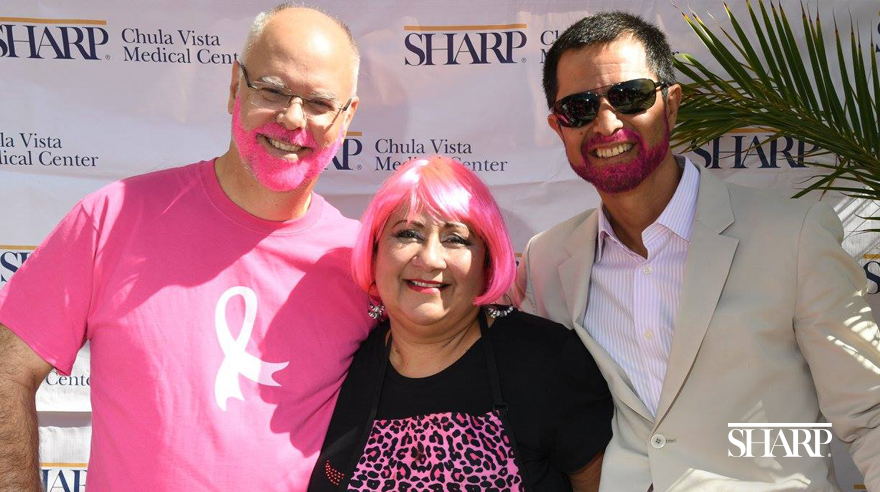 Sharp Chula Vista goes pink for breast cancer
