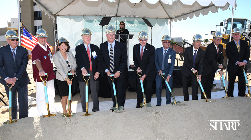 Sharp Chula Vista groundbreaking