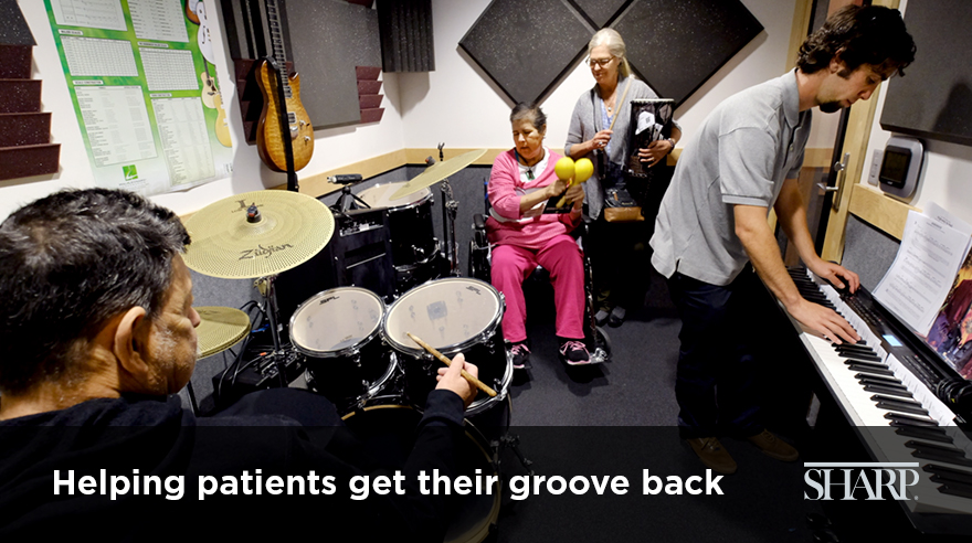 Helping patients get their groove back
