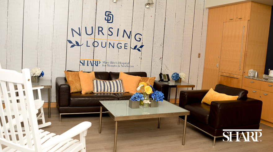 New lounge for nursing moms is a home run