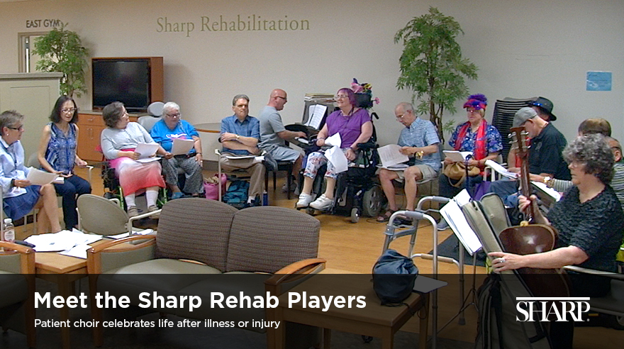 Meet the Sharp Rehab Players (video)