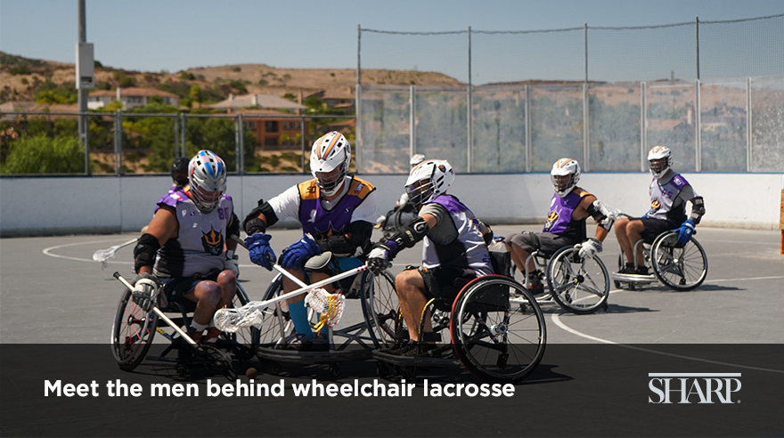 Meet the men behind wheelchair lacrosse (video)