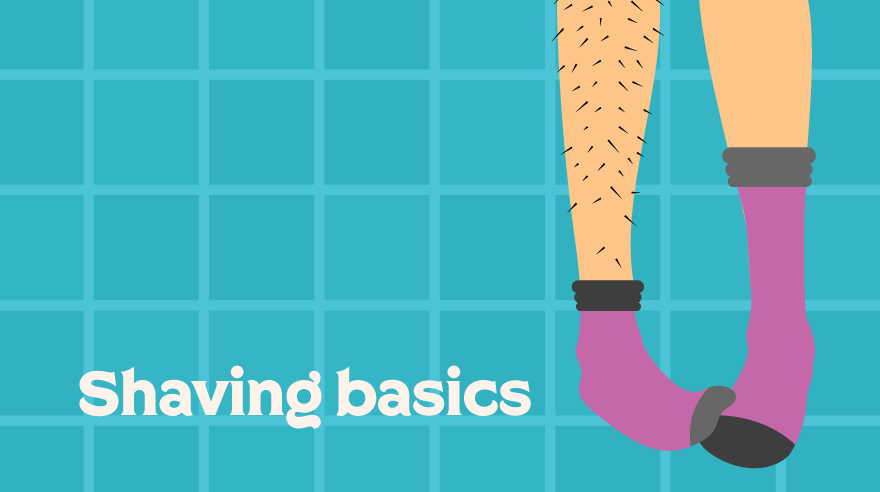 Shaving basics (infographic)