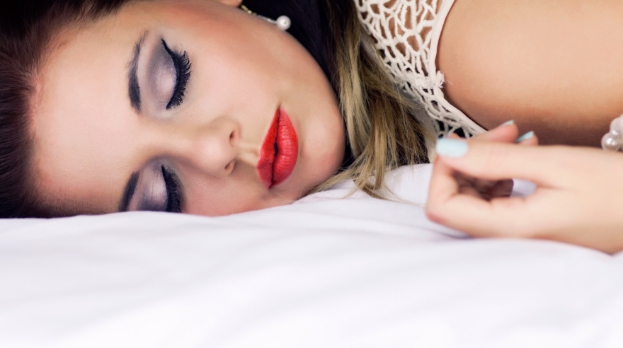 How bad is it to sleep with your makeup on?