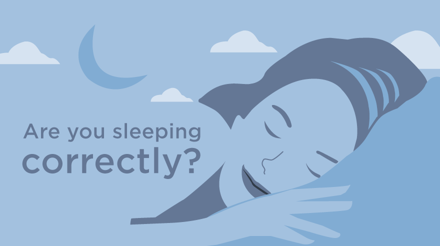 What your sleep position says about your health (infographic)