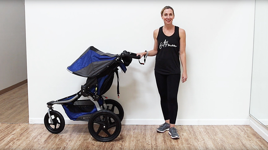 3 stroller workout moves