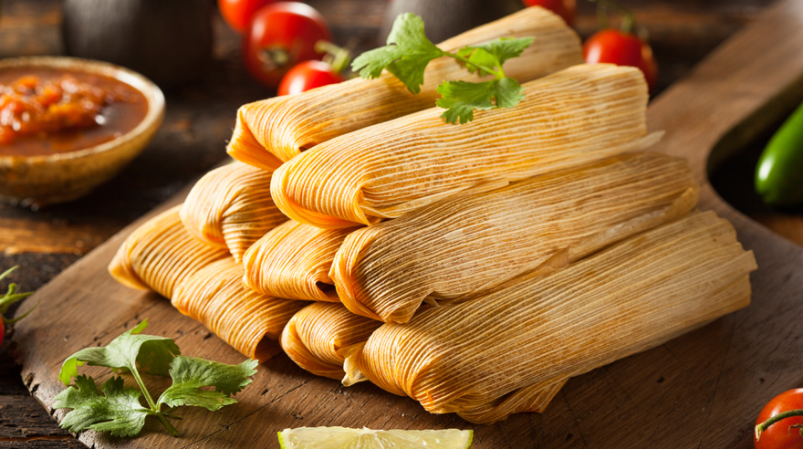 Tamales with a healthy twist
