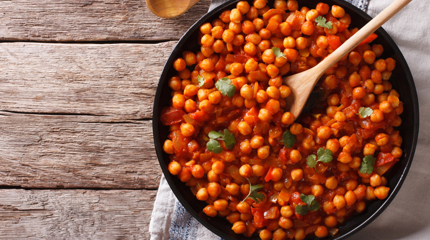 Vegan chickpea curry (recipe)