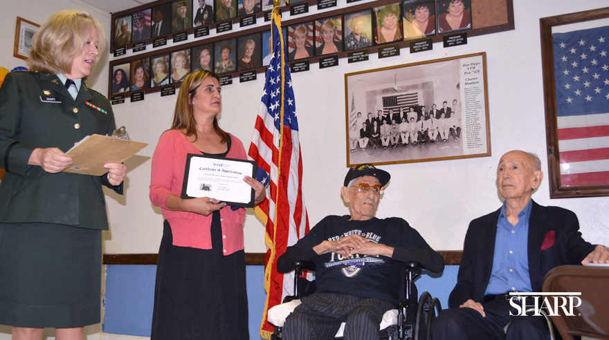 Caring for and honoring veterans