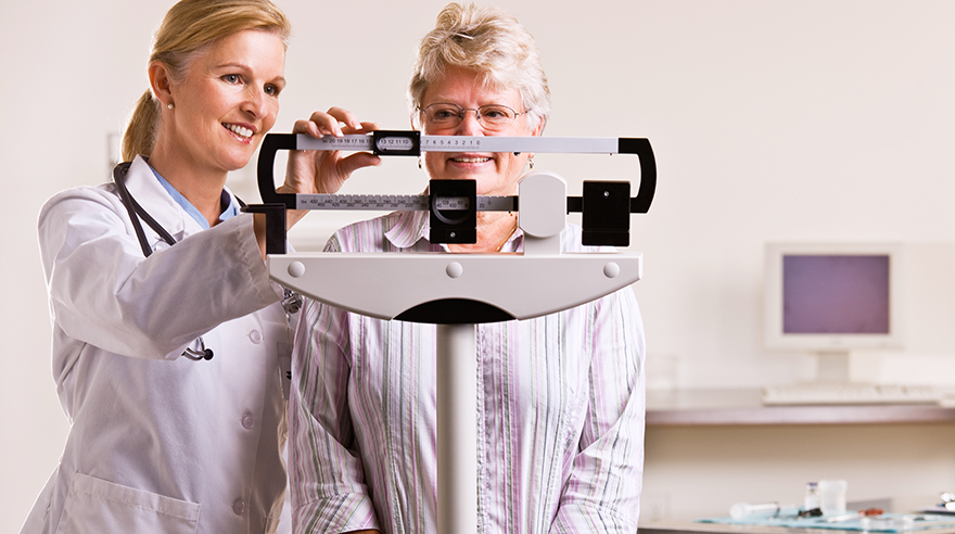 Weight gain during cancer treatment