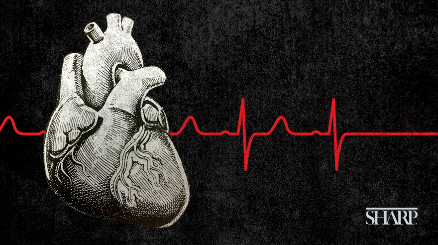 What is a 'widowmaker' heart attack?