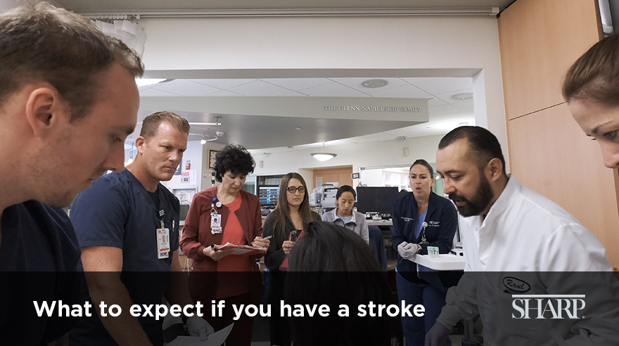 What to expect at the hospital when you have a stroke (video)