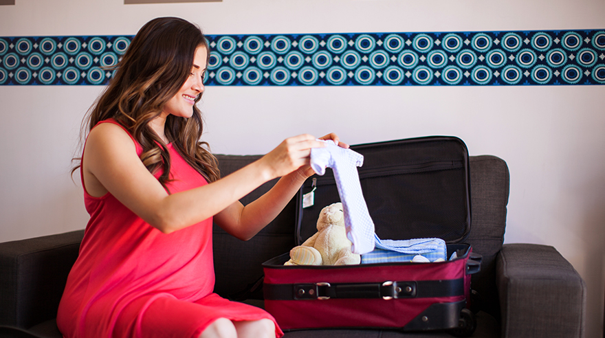 10 things to pack when you're having a baby