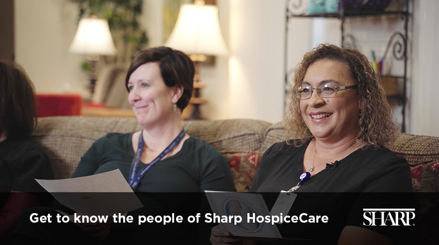 Get to know the people of Sharp HospiceCare (video)