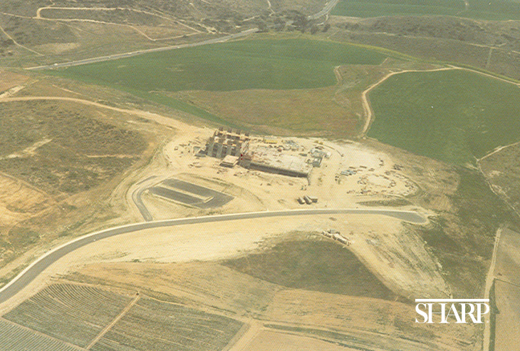 A view of Sharp Chula Vista's growth